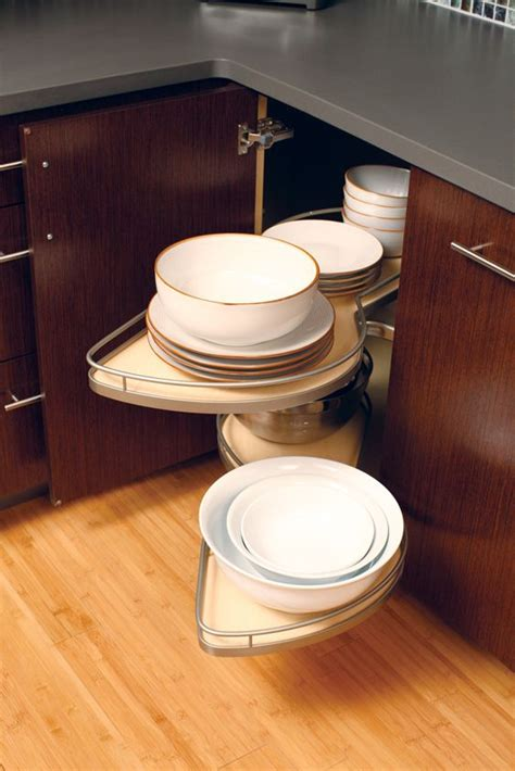 corner cabinet access solutions kitchen corner cabinet shelves pivot and pull out for