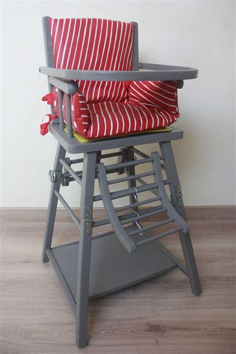 chaise haute bois bébé chaise haute en bois pour bébé style baumann chambre d