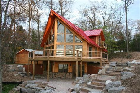 prefab log cabins jetson green nation s leed platinum log home