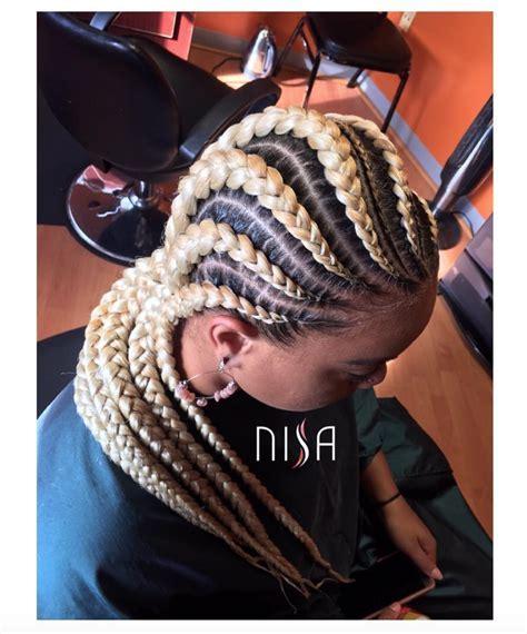 Flawless braids by @nisaraye   Black Hair Information