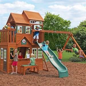 Aire De Jeux Pour Jardin : la cabane de jardin pour enfant est une id e superbe pour ~ Premium-room.com Idées de Décoration