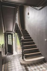 Escalier Bois Intérieur : incroyable peinture escalier bois interieur 2 escaliers ~ Premium-room.com Idées de Décoration