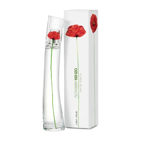 kenzo flower by kenzo eau de toilette spray refillable 50ml feelunique