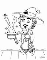 Cartoon Coloring Printable Pages Pdf Graphicmama Magician Waiting Sheets Once Hours Ve Fun They Take sketch template