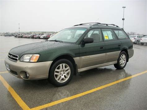 subaru awd wagon sell used 2000 subaru outback awd with automatic trans