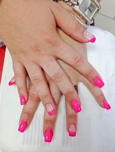 Modele Ongle Gel : modele ongle en gel rose ~ Louise-bijoux.com Idées de Décoration
