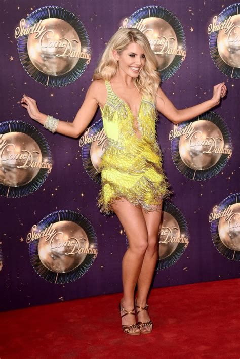 Strictly Come 2017 Mollie King Mollie King At Strictly Come 2017 Carpet