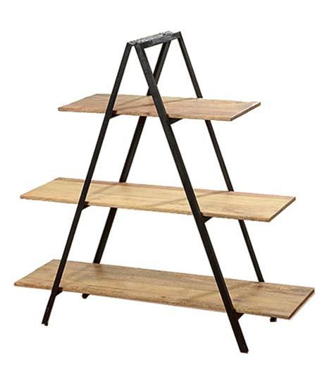 etagere de rangement en bois 201 tag 232 re design en bois et m 233 tal noir evan