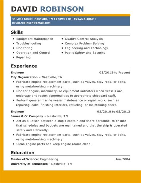 Amazing Resume Creator by Environmental Compliance Engineer Resume