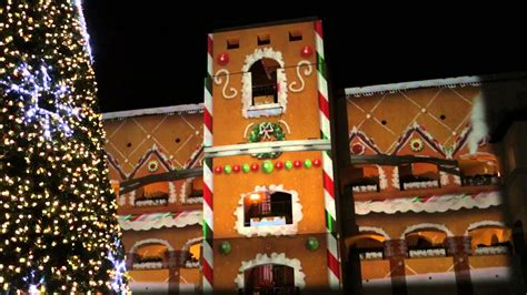 fairmont scottsdale princess christmas video mapping