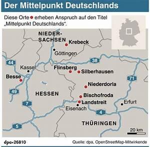 Mittelpunkt Eines Vektors Berechnen : dorf gegen d rfer skurriler streit wo liegt deutschlands mitte welt ~ Themetempest.com Abrechnung
