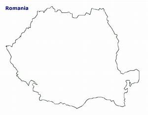 Coloring Map Of Europe Map Of Romania Terrain Area And Outline Maps Of Romania