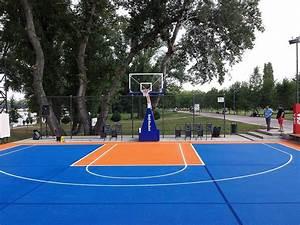 Backyard Basketball Court Ideas - Stencils, Layouts