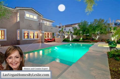 Las Vegas Homes For Sale With Swimming Pools