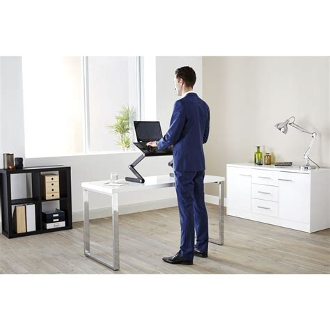 portable standing desk amazon portable folding sit stand desk officeworks