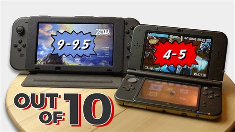 How Good Is The Nintendo Switch Display? (vs. 3ds Xl