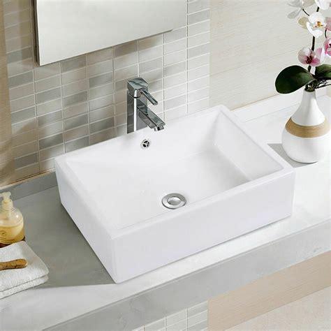 Rectangle Sinks Bathrooms by 20 Inch Bathroom Rectangle Ceramic Vessel Sink Vanity Pop