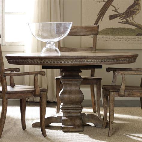 ashton round pedestal dining table hooker furniture sorella 5107 75203 round dining table