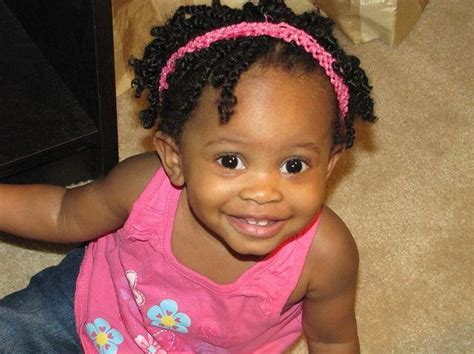 Hairstyles For Black Baby Girl With Short Hair