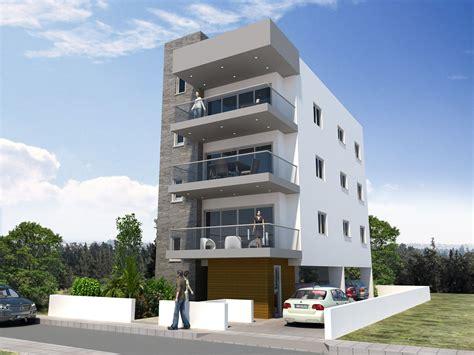 narrow house plan 3 buildings
