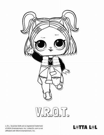 Lol Coloring Pages Surprise Vrqt Doll Series
