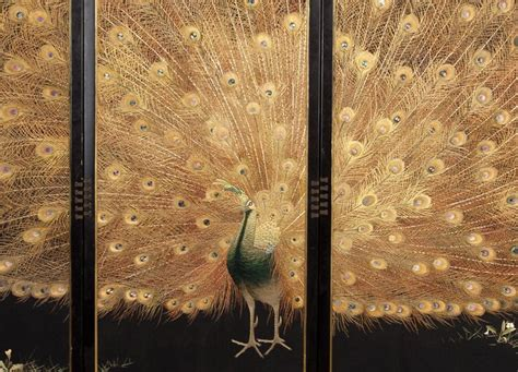 Creative Gold Peacock Large Wall Clock Metal Living Room: 226 Best Images About Japanese Embroidery On Pinterest
