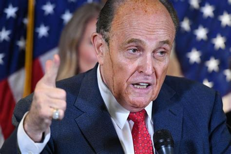 Giuliani is a legendary former mayor of new york city who rescued the city in 1990s from high one the upper east side apartment of rudy giuliani and also his park avenue office building as a search. Rudy Giuliani's leaking hair dye takes social media by storm   KRON4