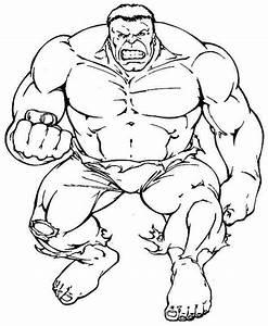 Incredible Hulk Coloring Pages - coloringsuite.com