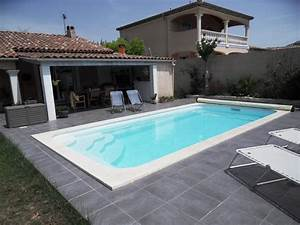 piscine estari 7 x 35 piscines pisciniste a la plaisance With maison en beton coule 15 piscine coque polyester