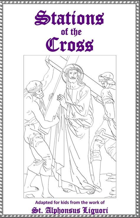 Stations Of The Cross  Excellent, Free, Printable Booklet