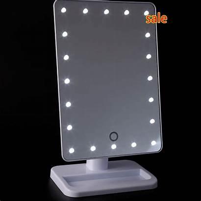 Vanity Mirror Lighted Tabletop Leds Adjustable Lamp