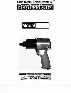 Harbor Freight Tools Impact Driver 94803 User Guide