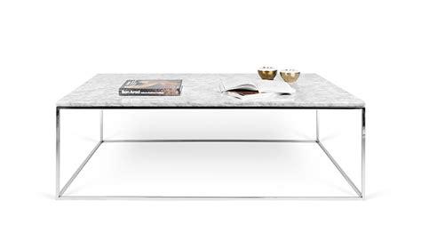 bureau en bois blanc table basse en marbre blanc de carrare avec pieds en acier