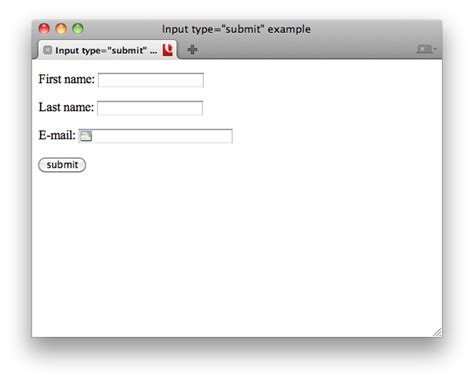 html elements input submit w3c wiki