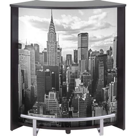elements cuisine conforama meuble comptoir bar noir imprimé 96 cm beaux meubles pas