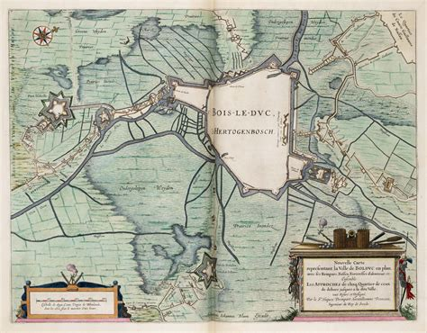 plan siege air file siege of den bosch 1629 nouvelle carte representant
