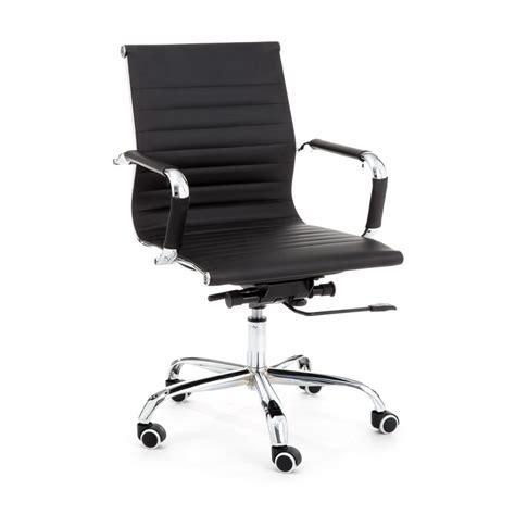 Sedia da ufficio regolabile con braccioli e ruote in
