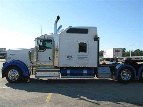 semi truck sleepers kenworth w900l 2008 sleeper semi trucks