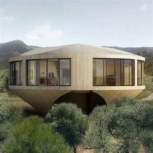 Round, House, Design, Offers, A, Unique, Architectural, Experience