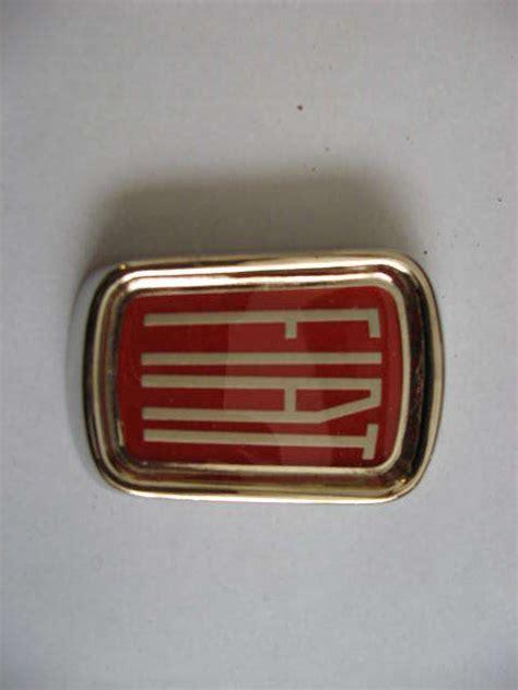 Fiat Emblem by Emblems Badges Mirror Fiat Osca Special Parts