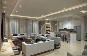 Modern, Classic, Villa, Interior, Design