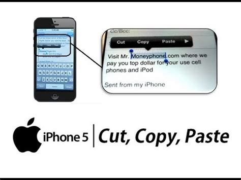 how to copy and paste on iphone iphone 5 how to cut copy paste text apple iphone 5