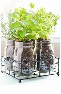 Herbes Aromatiques En Pot : herbes aromatiques 18 fa ons astucieuses de les faire ~ Premium-room.com Idées de Décoration