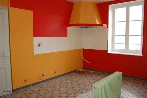 deco cuisine orange cuisine orange jaune