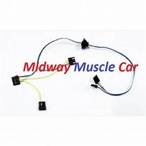 Windshield Wiper Motor Wiring Harness 65 Chevy Chevelle El