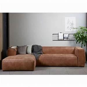 Couch Leder Cognac : eckgarnitur bean leder cognac couch polster sofa ecksofa longchair links sofas pinterest ~ Frokenaadalensverden.com Haus und Dekorationen