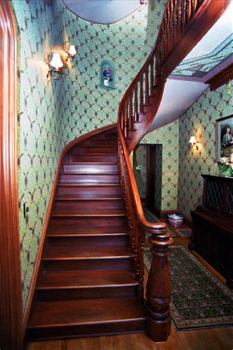saxton mckinley house front entry  stairhall