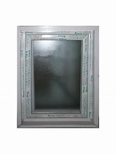 fenetre pvc blanc 1 vantail opaque hauteur 95x60 largeur With fenetre pvc opaque