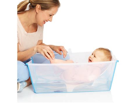 stokke stokke 174 flexi bath 174 newborn support blanc