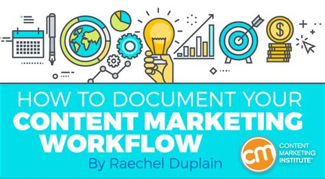marketing institute how to document your content marketing workflow